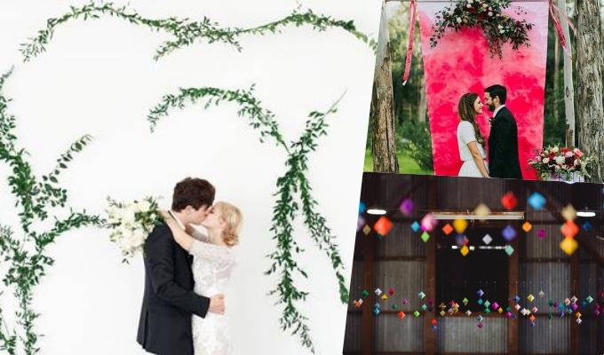 Những ý tưởng trang trí tiệc cưới chất lừ mà kinh tế - 5
