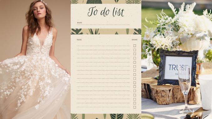 4 danh sách mọi cô dâu đều cần chuẩn bị trước đám cưới